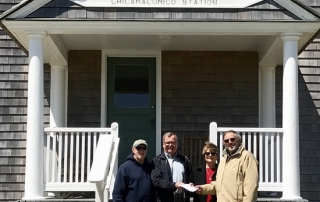 Chicamacomico - Centennial Commemoration - Midgett Realty donation