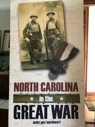 Chicamacomico World War I exhibit
